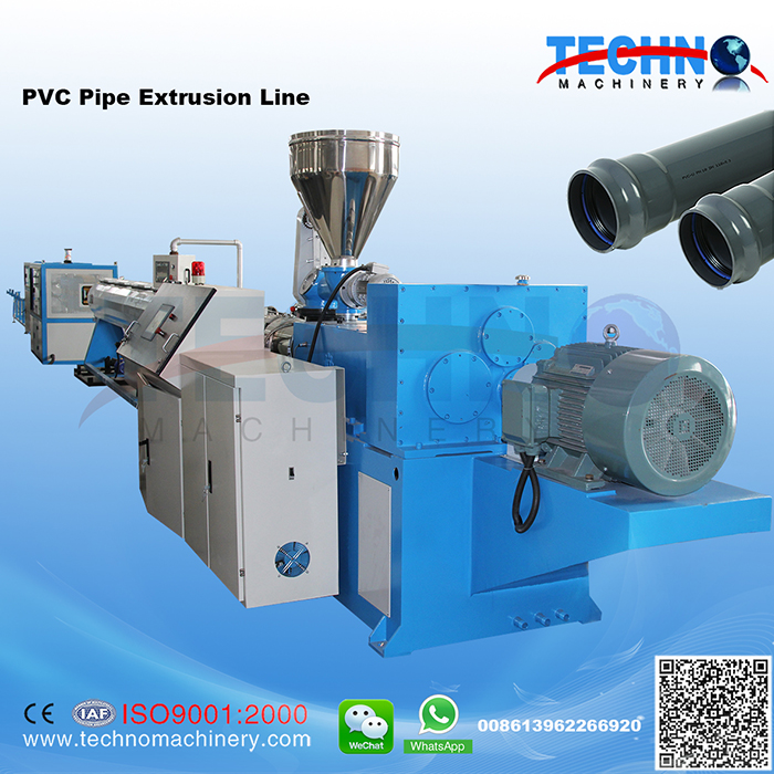 PVC Pipe Extrusion/Production Line