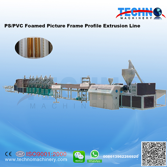 PS Foam Picture Frame Extrusion Line