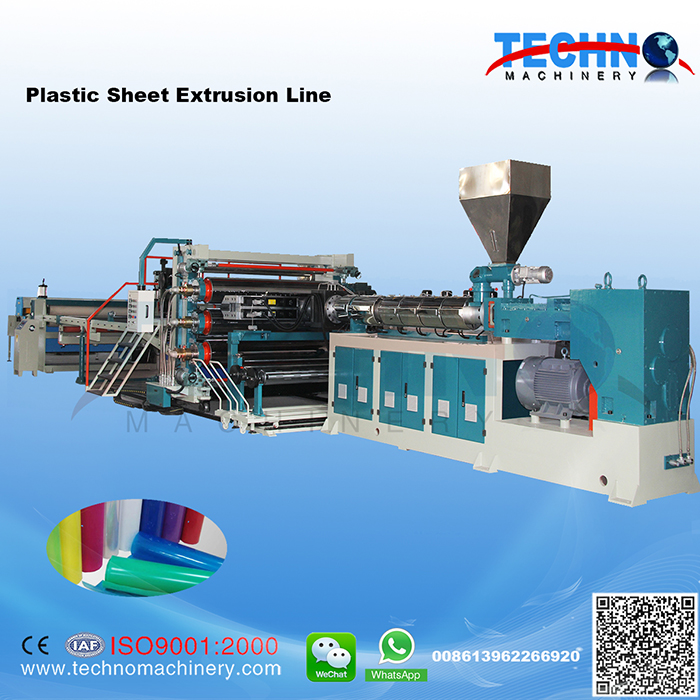 PP PE ABS PS HIPS Sheet Extrusion Line