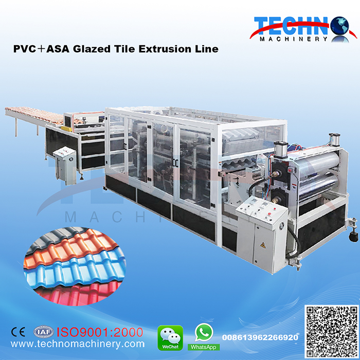 PVC Glazed Tile Extrusion Line