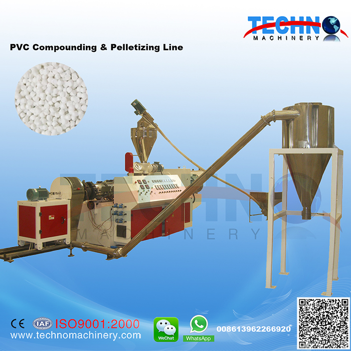 PVC Compounding & Pelletizing Line