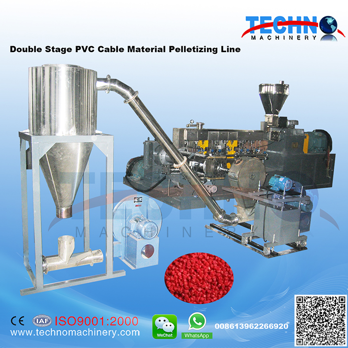 PVC Cable Material Compounding & Pelletizing Line