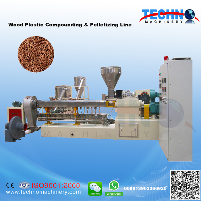 Wood Plastic Compounding & Pelletizing Line