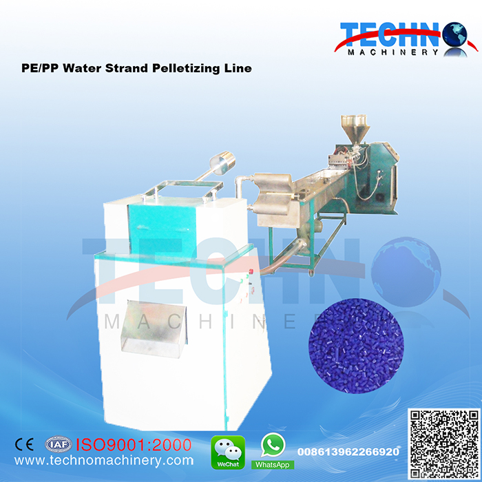 PE PP Water Strand Pelletizing Line