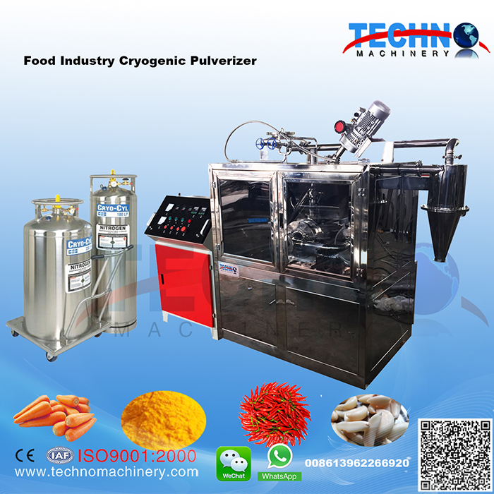 Small Model Food Cryogenic Pulverizer