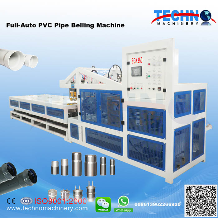 Full Auto PVC Pipe Belling Machine