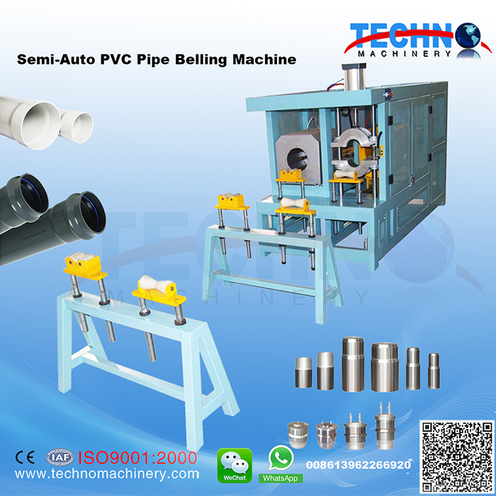Semi-Auto PVC Pipe Belling Machine