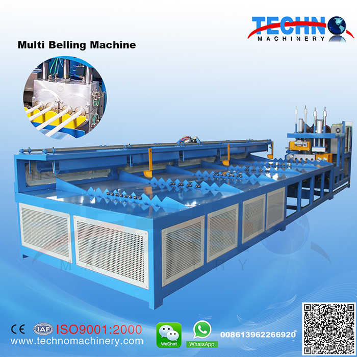 Full Auto Multi Pipe Belling Machine