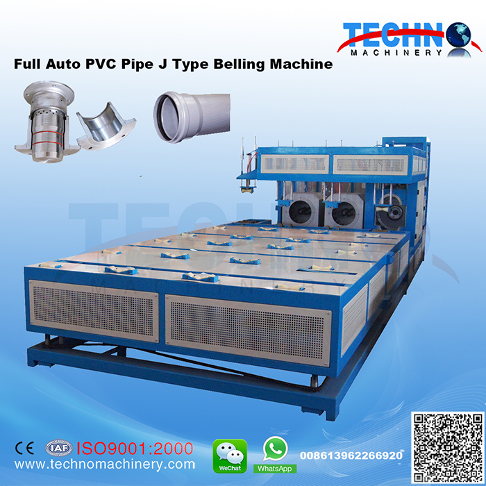 Full Auto J Type PVC Pipe Belling Machine