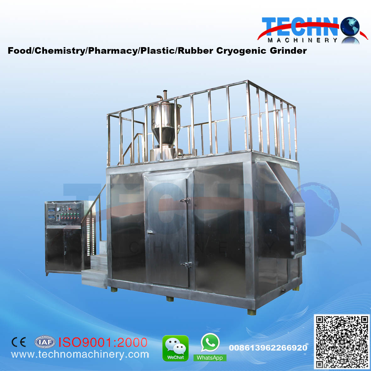 Turnkey Service Cryogenic Grinding System